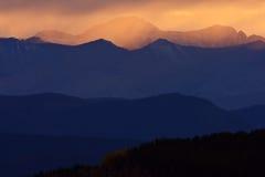 Британский Колумбия северные rockies сценарные Стоковое Изображение