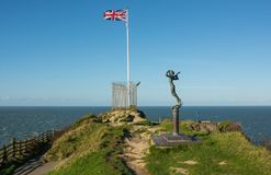 Британцы сигнализируют на Ilfracombe, Девоне, Англии стоковые изображения rf
