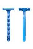 бритва лезвия голубая устранимая Стоковая Фотография RF