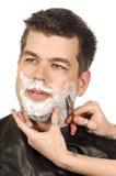 бритье салона Стоковая Фотография RF