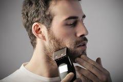 бритье Стоковое Изображение