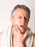 бритье Стоковая Фотография RF