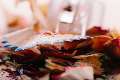 Брить карандашей цвета Стоковая Фотография RF