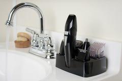 брить набора ванной комнаты Стоковые Фото