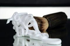 брить пены стоковая фотография rf