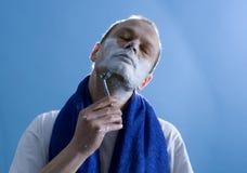 брить человека Стоковое фото RF