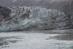 Брод ледника около островов Аляски elusion стоковые изображения