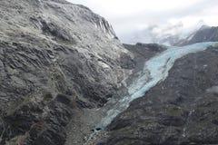 Брод ледника около островов Аляски elusion стоковое изображение rf