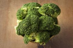 брокколи органический Стоковые Фотографии RF