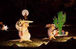 Броненосцы праздника петь Стоковые Изображения