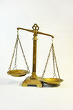 Бронза баланса Стоковое Изображение