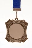 бронзовая медаль стоковое изображение