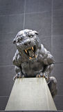 бронзовая пантера Стоковое фото RF