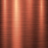 Бронзовая предпосылка технологии металла Стоковое Изображение RF