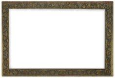 бронзовая рамка стоковое фото