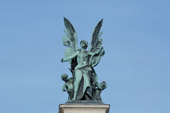Бронзовая символическая скульптура Стоковая Фотография RF