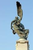 Бронзовая статуя ангела, Рим Стоковая Фотография