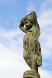 Бронзовая статуя ангела Стоковые Фото