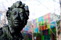 Бронзовая статуя в городском Монреале стоковые фото