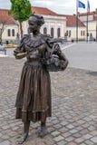 Бронзовая статуя в Alba Iulia, Румынии Стоковое Изображение