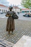 Бронзовая статуя в Alba Iulia, Румынии Стоковое Изображение RF