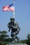 Бронзовая статуя Стоковое Изображение RF