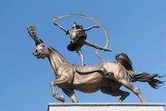 Бронзовая статуя Стоковые Фотографии RF