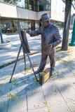 Бронзовая статуя Roskovics Ignac в Будапеште Стоковые Изображения