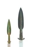 бронзовое копье стоковое изображение rf
