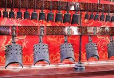 Бронзовые колоколы музыки стоковое фото rf