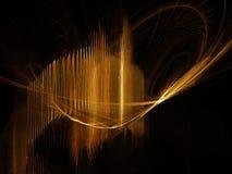 бронзовые лучи Стоковая Фотография RF
