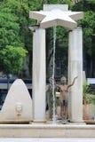 Бронзовые статуи на d& x27 места; Assas в Nîmes, Франции Стоковые Фото