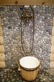 бронзовый ливень стоковое фото