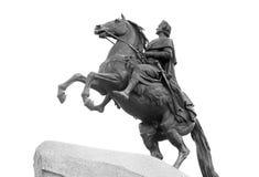 Бронзовый наездник в Санкт-Петербурге Стоковое Изображение RF