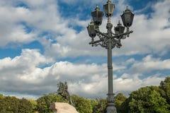 Бронзовый наездник, Санкт-Петербург, Россия Стоковые Фотографии RF