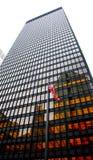 бронзовый новый небоскреб york Стоковое фото RF