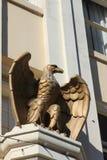 Бронзовый орел Стоковое Изображение RF