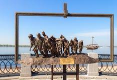 бронзовый памятник Стоковое фото RF