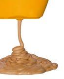 бронзовый солнцезащитный крем Стоковое Изображение RF