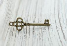 Бронзовый шкентель в форме ключа Стоковое Фото