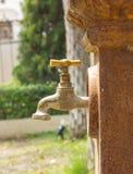 Бронзовый faucet Стоковая Фотография RF
