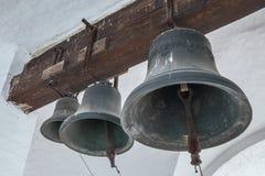 3 бронзовых колокола Стоковые Изображения