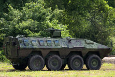 бронированное транспортное средство Стоковая Фотография