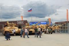 Бронированные транспортные средства Стоковая Фотография