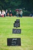 бросать знаков шарика Стоковые Фотографии RF