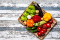 Бросать овощей Стоковое фото RF