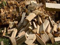 Бросая древесина на куче видеоматериал