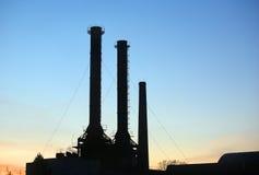 брошенная фабрика Стоковая Фотография RF