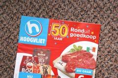 Брошюра Hoogvliet стоковое фото rf