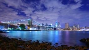 Бруклинский мост Стоковые Фото